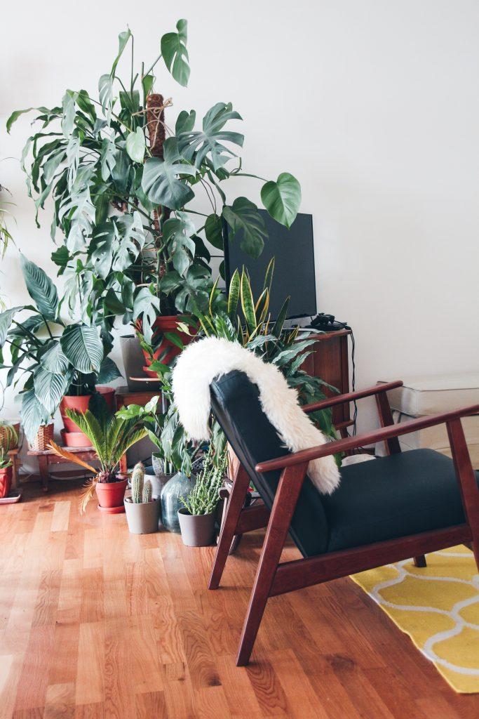 Le fauteuil scandinave en cuir